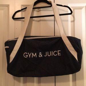 Gym & Juice workout bag